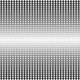 背景无缝的向量 抽象多角形黑白图表三角样式 免版税图库摄影