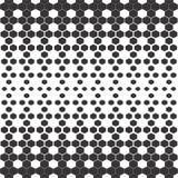 背景无缝的向量 抽象黑白多角形样式 免版税库存图片