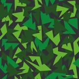 背景无缝的样式现代伪装绿色 图库摄影