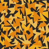 背景无缝的样式现代伪装黄色 库存照片