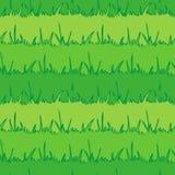 背景无缝的植被 绿草 Vecto 库存照片
