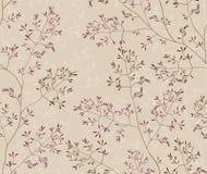 背景无缝的植被 免版税图库摄影