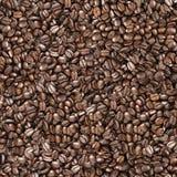 背景无缝豆的咖啡 免版税库存照片