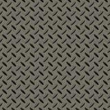 背景无缝checkerplate的金属 向量例证