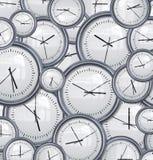 背景时钟时间 库存例证