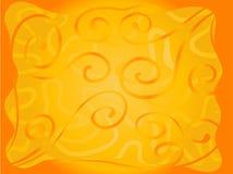 背景明亮的桔子 向量例证