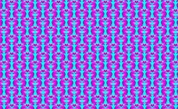 背景是很多猪,在紫色和桃红色口气 也corel凹道例证向量 免版税库存照片
