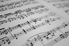 背景是能使用的不同的例证音乐目的 库存图片