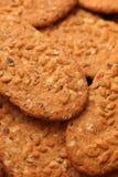 背景曲奇饼食物系列 免版税库存照片