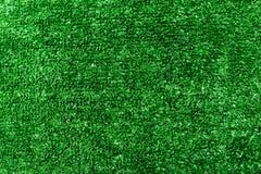 背景有人为的绿草的足球场草坪 免版税库存照片