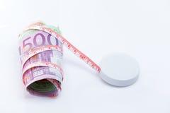 背景本杰明被束缚的预算值链子集中货币眼睛富兰克林查出的最大限制s栈 库存照片