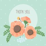 背景构成旋花植物空白花的郁金香 免版税图库摄影