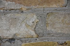 背景构成树皮砖砖砌水泥大厦木头, 库存例证