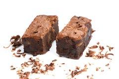 背景果仁巧克力巧克力白色 免版税库存图片