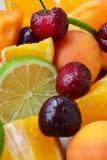 背景果子混合白色 库存照片
