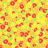背景柑橘(柠檬、石灰、桔子,葡萄柚) 免版税库存图片