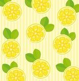 背景柠檬 库存照片