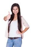 背景查出在纵向时髦白人妇女年轻人 免版税库存图片