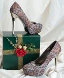 背景查出在鞋子白人妇女 库存图片