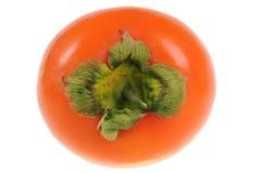 背景查出的柿子白色 库存照片