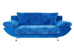 背景查出的沙发白色 免版税库存照片