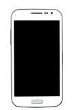 背景查出的电话聪明的白色 免版税图库摄影