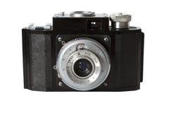 背景查出的老photocamera白色 免版税库存图片