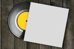 背景查出的记录乙烯基白色 库存图片