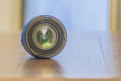 背景查出的透镜照片白色 免版税库存图片
