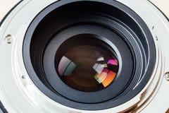 背景查出的透镜照片白色 库存照片