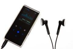 背景查出的MP3播放器白色 免版税图库摄影