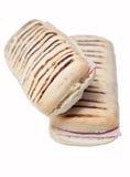 背景查出的panini白色 库存图片
