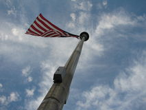 背景标志天空美国 图库摄影