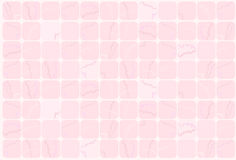 背景桃红色瓦片 免版税库存照片