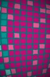 背景桃红色紫色正方形 免版税库存照片