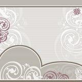 背景框架有花边的柔和的淡色彩 库存图片
