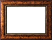 背景框架查出的照片白色 免版税库存图片
