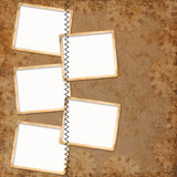 背景框架 免版税库存照片