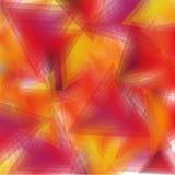背景桔子三角 免版税图库摄影