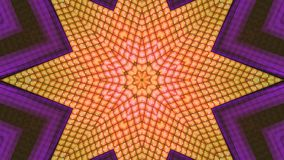 背景桔子星形 库存图片