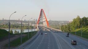 背景桥梁城市街道画grunge例证样式称呼了都市向量 免版税库存照片