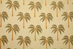 背景棕榈树 免版税图库摄影