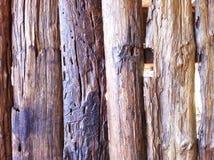 背景棕色木 免版税库存图片