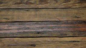 背景棕色树荫纹理木头 木板条背景,风化,与钉子 滑子射击 股票视频
