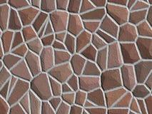 背景棕色石头 免版税库存图片