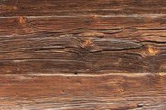 背景棕色老木 免版税库存照片