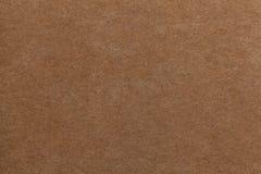 背景棕色老纸张 厚实的纸板 库存图片