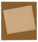 背景棕色老纸张 免版税库存图片