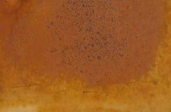 背景棕色绿色铁锈 库存照片