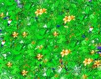 背景植物群 免版税库存图片